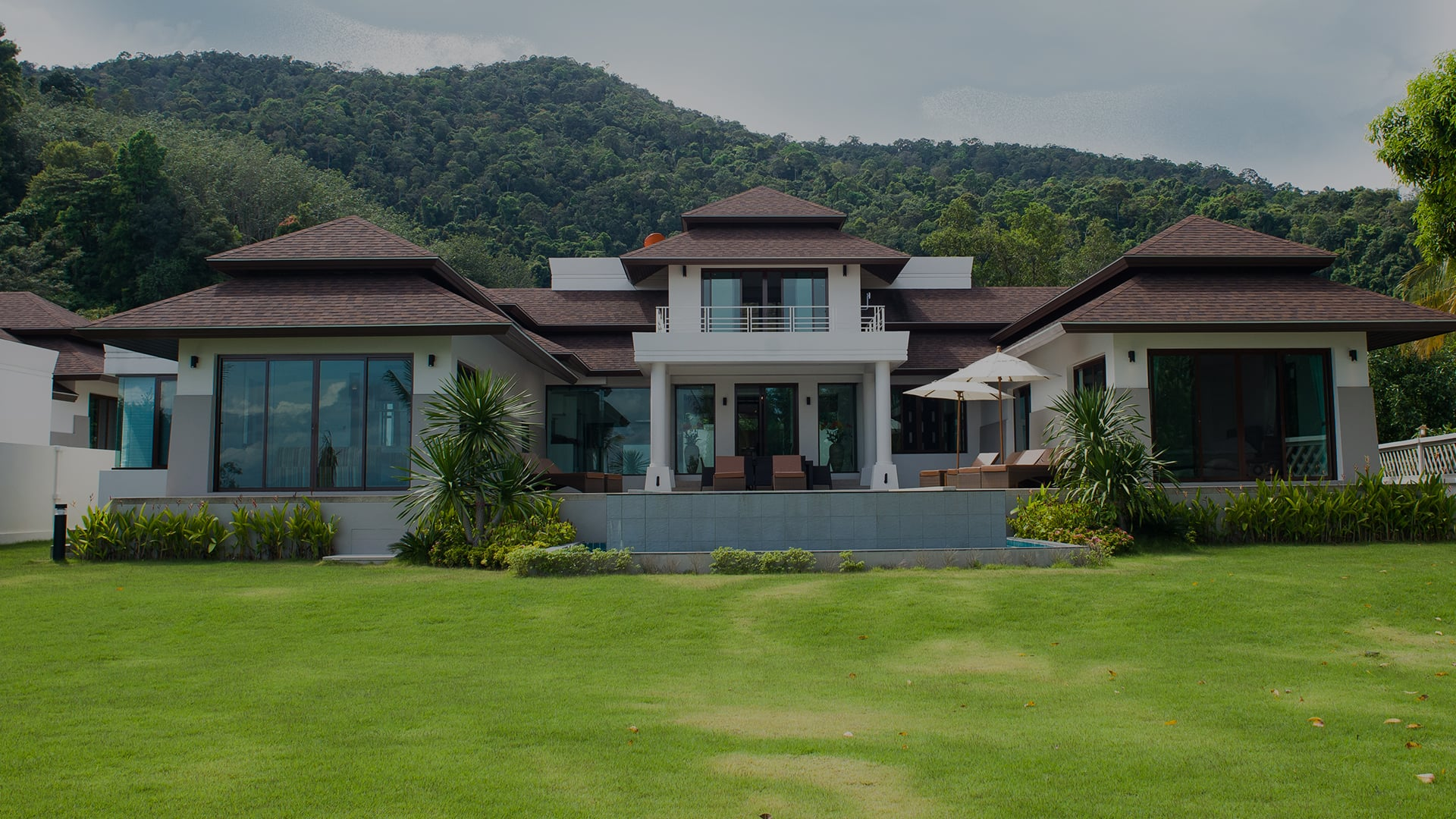 Luxury private pool villa in Koh Chang in Thailand