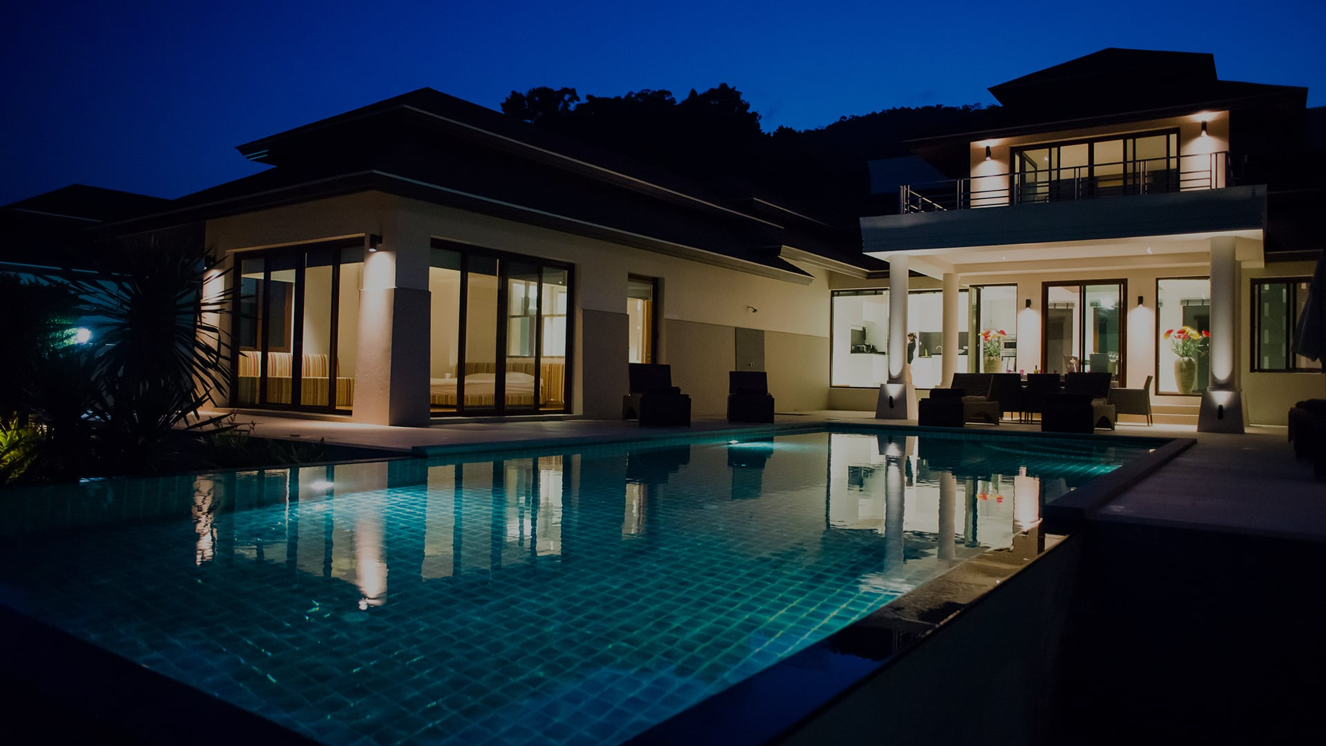 Villa with private pool in Koh Chang in Thailand